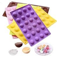 Moldes para chocolates y bombones